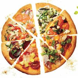tonhal feltét 30cm-es pizzához