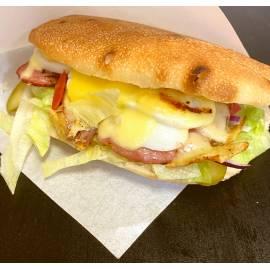 Gyros húsos olasz szendvics